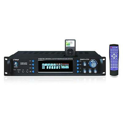 Pyle P2002ABTI 2000 Watts Receiver & Pre-Amplifier AM-FM Tuner & Bluetooth