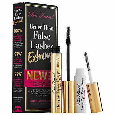 Too Faced Better Than False Lashes Extreme Mascara & Primer Duo Set of 2