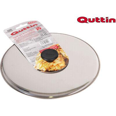Tapa acero gira tortillas 27cm quttin