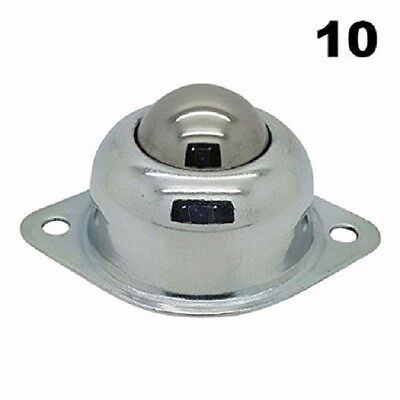 Ten 10 58 Flange Mounted Conveyor Roller Ball Transfer Bearings