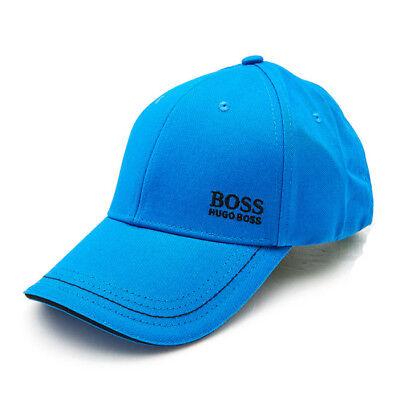 95d53876906 HUGO BOSS Cap Mens Womens Blue Hat 50245070 433 Adjustable Outdoor Auth Gift