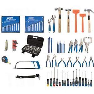 Ensemble d'outils intermédiaires 112 mcx avec coffre en acier