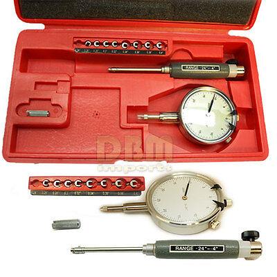 Dial Bore Gage Gauge Set 0.24 - 0.4 Engine Cylinder Hole Indicator Grad .0005