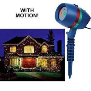Brand New (SET OF TWO) Star Shower Motion Holiday Laser Show