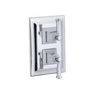 Kohler T10422-4S-CP Memoirs Stacked Valve Trim With Stately Desi