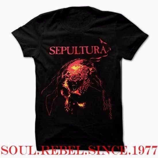 SEPULTURA  BLACK HEAVY METAL PUNK ROCK CLASSIC T SHIRT MEN'S SIZES