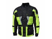 12xl JTS Biker Jacket 12xl Hi Vis Yellow