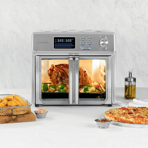 Kalorik 26  Quart Digital MAXX Air Fryer Oven, Stainless Steel , AFO 46045 SS