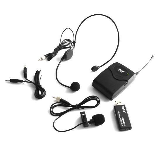 belt pack microphone system w wireless usb