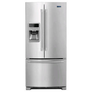 Maytag Maytag® 33- Inch Wide French Door Refrigerator with Bever