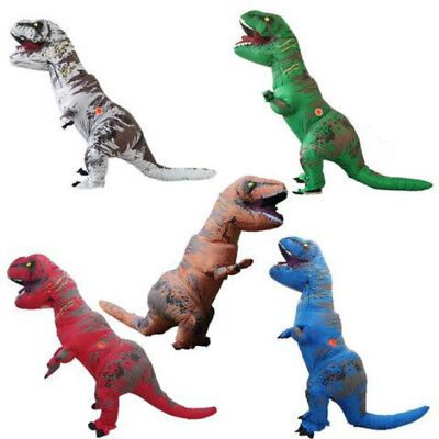 Adult T-REX Inflatable Costume For Women & Men - T Rex Costume For Adults