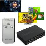 3 Port 1080P Full HD HDMI Switch Switcher Hub Splitter Bo...