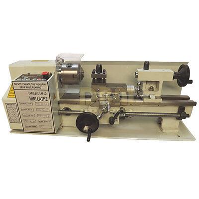Digitial Precision Metal Mini Lathe 7 X 12 Machine Variable Speed 400w 2500rpm