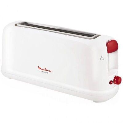 Tostador tostadora horizontal pan Moulinex LS16011 1 ranura Larga Blanco 1000W