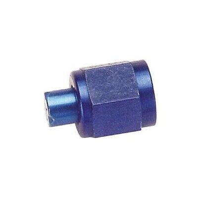 -6 AN Blue Aluminum Flare Cap Hot Block off  Rod 4x4 - 617-6196