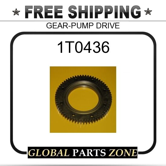 1T0436 - GEAR-PUMP DRIVE  for Caterpillar (CAT)
