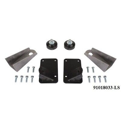 Chevrolet LS Universal Motor Mount Weld in Rubber Cushion Rod Chevy LSX LS1 LS3