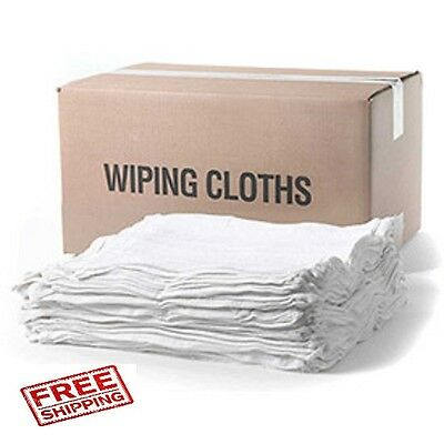 5 lb. box new cotton terry cloth cleaning towel / rags 14 x 17 jumbo box
