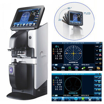 Auto Lensmeter Optical Lensometer Focimeter Machine Touch Screen Uv Pd Printer
