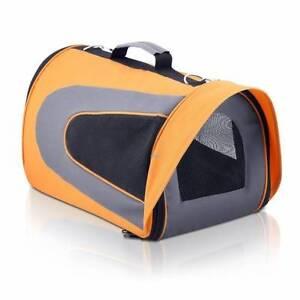 Pet Dog Cat Carrier Travel Bag XLarge Orange Sydney City Inner Sydney Preview