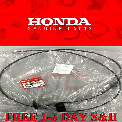 Hood Release Cable - Genuine OEM Honda Civic 2 / 4 door  Hood Release Cable with Handle 2001-2005