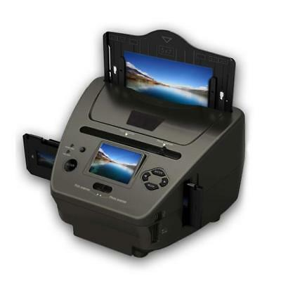 Pyle 3-in-1 Photo, Slide and Film Scanner - Digital Media Digitizer Copier