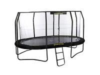 JumpKing Professional Oval Trampoline 10ft x 15ft Jump-Pod