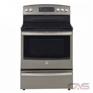 STOVE GE PROFILE CONVECTION SLATE OR STAINLESS STEEL