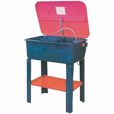 Recirculating Parts Washer 20 Gallon Capacity 30x18 Work Area Solvent Cleaner