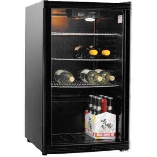Heller 115L Beverage Cooler Wine Bar Fridge Refrigerator Drink Black HBC115B NEW