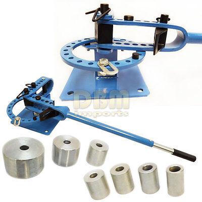 Bench Top Tube Pipe Rod Compact Bender Bending Metal Fabrication 7 Dies 1 - 3