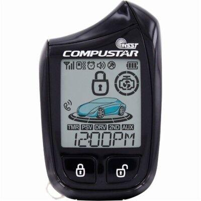 Compustar 2W901R-SS 5B 2-Way LCD, 1-Mile Remote