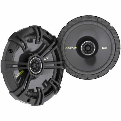 "Kicker 40CS674 6-3/4"" CS-Series Coaxial Speakers - Pair"
