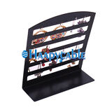 New Plastic 72 Holes Jewelry Earrings Display Rack Stand Organizer Show Holder