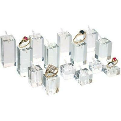 14 Ring Display Riser Stands Jewelry Holders
