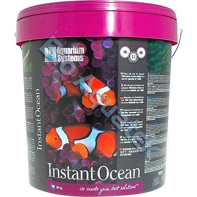 25KG Instant Ocean Aquarium Synthetic Sea Salt Marine Fish Tank Bucket