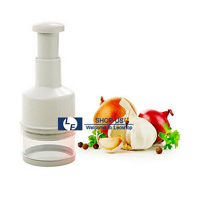 New Pressing Vegetable Garlic Onion Food Chopper ...