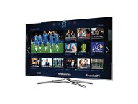 Samsung UE46F6500 46'' Smart LED TV 1080p with 3D and Freeview (for repair/parts)