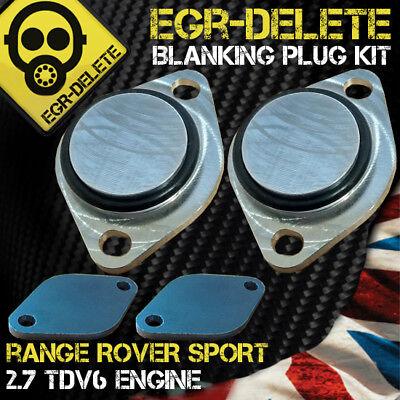 RANGE ROVER SPORT 2.7 TDV6 EGR Removal kit Blanking plate perfomance BHP MPG
