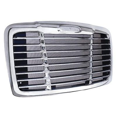 Freightliner Cascadia Chrome Grille with Bug Screen 2008 - 2016