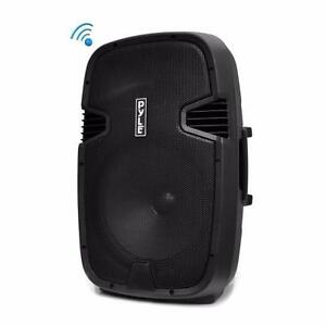 "PYLE PPHP152BMU 15"" Bluetooth Powered Wireless PA 1000 Watt Speaker System includes a Wired Microphone"