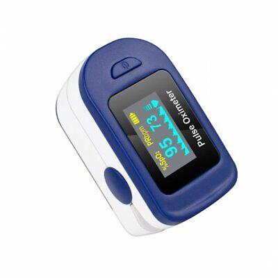 Us Finger Pulse Oximeter Blood Oxygen Sensor O2 Spo2 Monitor Heart Rate For Home