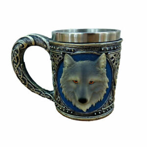 Selling Wolf mugs coffee cups forsale