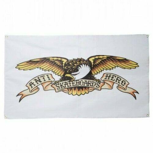 ANTIHERO Skateboards Eagle Logo White Poster Banner Flag 36 x 60