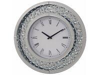 Mirror Round Wall Clock