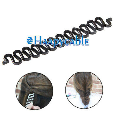 New 2 PCS Women Accessories Hair Clip Magic Styling Stick Bun Maker Braid Tool