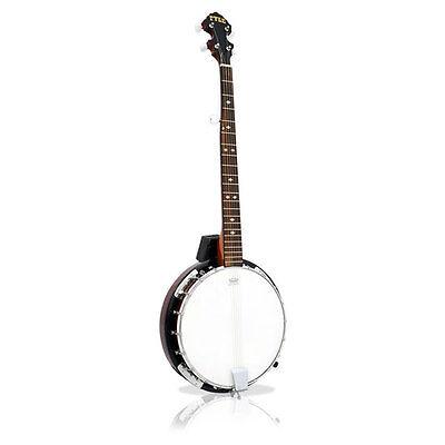 PBJ60 5 String Banjo Chrome Plated Hardware Made w/Mahogany Rosewood & Maplewood