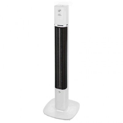 Ventilador de Torre de pie S&P ARTICTOWERM 90CM 30W Blanco
