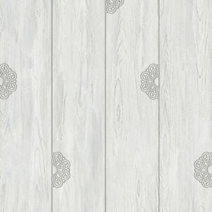 Gray Wood Self Adhesive Wallpaper Prepasted Home Decor Sheet Vinyl Peel Stick