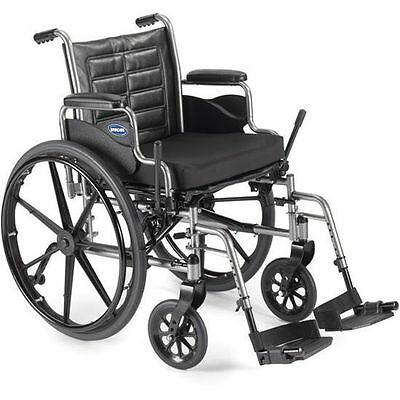 """Invacare Tracer EX2 Wheelchair 18x16"""" w/ Footrests & Removable Desk Length Arms"""